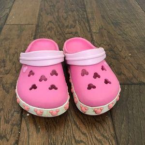 Crocs Pink Disney Themed Toddler Size 6/7